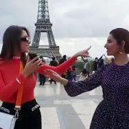 ماہرہ خان، لبنانی اداکارہ، عربی گانے، رقص کی دھوم، پیرس، 92 نیوز