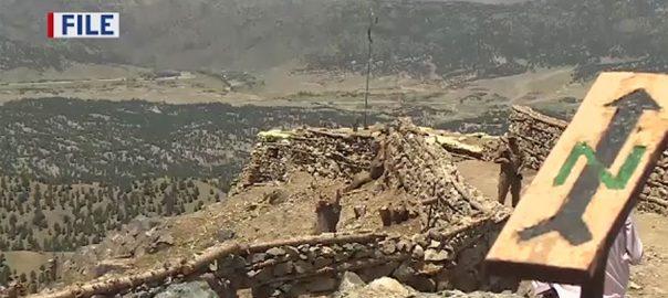 پاک افغان بارڈر ، دیر ، بن شاہی ، سرحد پار ، فائرنگ ، ایف سی ، جوان ، شہید