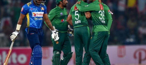 تیسرا ، ٹی ٹوئنٹی ، سری لنکا ، پاکستان ، جیت ، 148 ، رنز ، ہدف