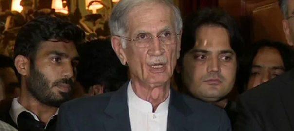 اپوزیشن  آزادی مارچ  پر امن  پرویز خٹک  اسلام آباد  92 نیوز وفد