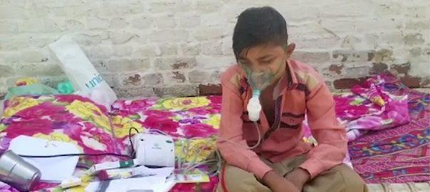 16 سالہ حاجی محمد  مسیحا کا منتظر  ڈیرہ غازی خان  92 نیوز