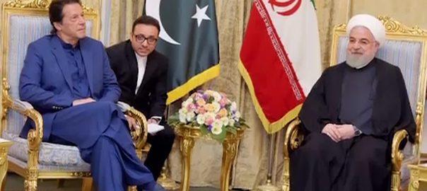 وزیر اعظم عمران خان  ایرانی سپریم لیڈر  آیت اللہ خامنائی 