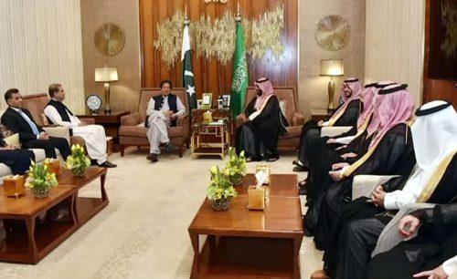 وزیراعظم کی شاہ سلمان، ولی عہد، ملاقاتیں، ایران سعودی عرب، کشیدگی، تبادلہ خیال، ریاض، 92 نیوز