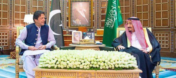 وزیراعظم کی شاہ سلمان ،ولی عہد، ملاقاتیں، ایران سعودی عرب، کشیدگی، تبادلہ خیال،ریاض ،92نیوز