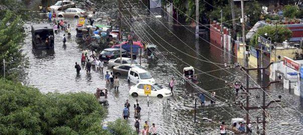 بارشوں، بھارت ، کئی ریاستوں، تباہی، ہلاکتیں127، نئی دہلی، 92 نیوز