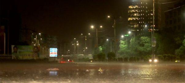 کراچی ، مختلف ، علاقوں ، رات ، بارش، علاقوں ، بجلی ، غائب
