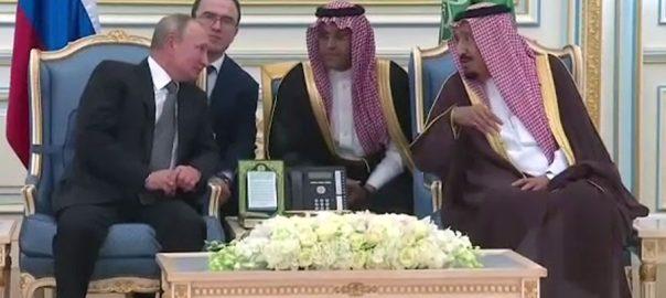 روسی صدر پیوٹن، 12 برس بعد، سعودی عرب، دورہ، ریاض، 92 نیوز