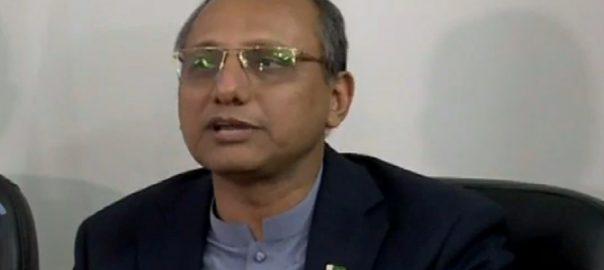 وزیر اعظم  نیب سعید غنی  کراچی  92 نیوز وزیر اطلاعات سندھ  میڈیا سے گفتگو 