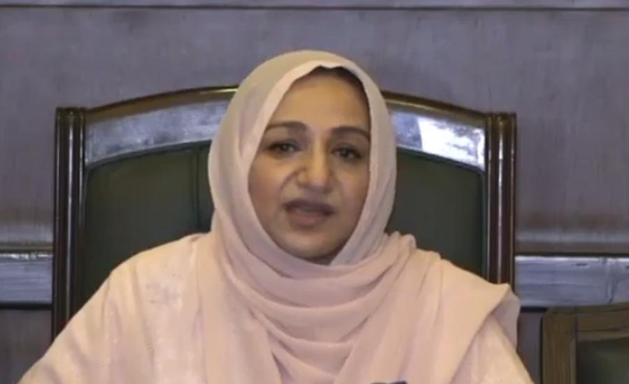 سائرہ افضل تارڑ کی صحت کے مسائل پر وزیر اعظم کو مذاکرہ کی دعوت