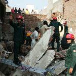 سمن آباد میں مکان کی چھت گر گئی ، دو افراد جاں بحق