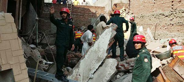 سمن آباد چھت گر گئی دو افراد جاں بحق لاہور  92 نیوز پکی ٹھٹھی  صوبائی وزیراطلاعات  میاں اسلم اقبال  ڈپٹی کمشنر 