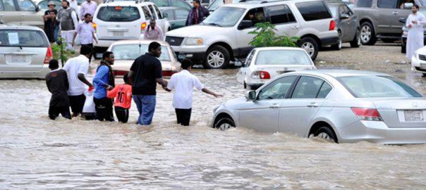 سعودی عرب، موسم سرما ، بارشوں کا آغاز،ریا ض،92نیوز