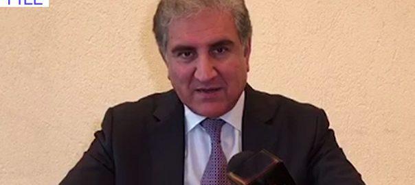 راہ فرار اختیار بھارت  جھوٹ  بے نقاب  شاہ محمود قریشی  اسلام آباد  92 نیوز وزیر خارجہ  بھارتی ڈپٹی ہائی کمشنر  ایل او سی  راہ فرار اختیار
