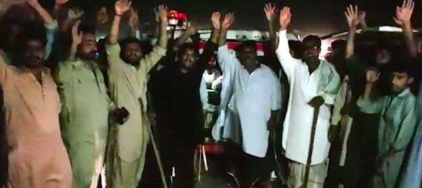 شکار پور، جیل پولیس، مبینہ تشدد، ملزم جاں بحق، ورثاء کا احتجاج،92نیوز