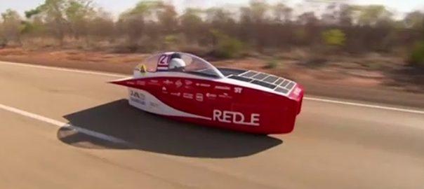 آسٹریلیا  سولر چیلنج کار ریس  سڈنی  92 نیوز نیدر لیڈ ز