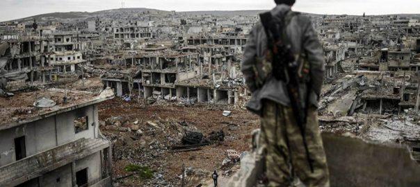 کرد امریکا کرد اتحادیوں کو امریکا دھوکا دے گیا مشق  دمشق  92 نیوز  مشرق وسطیٰ جنگی محاذ  شام