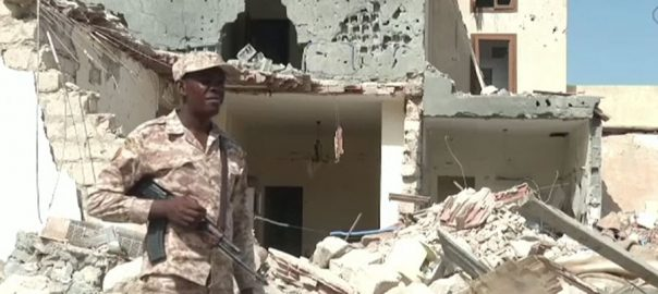 طرابلس، ملٹری انٹیلیجنس کیمپ، بمباری، 3 بہنیں ہلاک، 92 نیوز