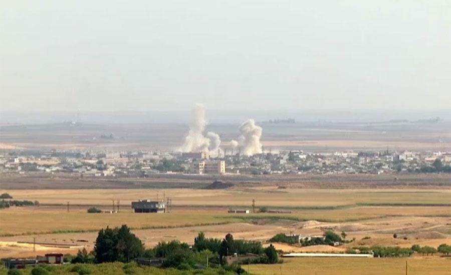 شام میں آپریشن بہارِ امن جاری ، ترک حکومت کا 342 کرد جنگجوؤں کو ہلاک کرنے کا دعویٰ