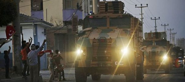 شام، ترک فوج، آپریشن جاری، 14 دیہات، کنٹرول سنبھال لیا، دمشق، 92 نیوز