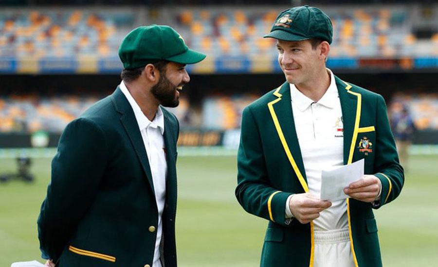 دوسرا ٹیسٹ: آسٹریلیا کا پاکستان کے خلاف ٹاس جیت کر بیٹنگ کا فیصلہ