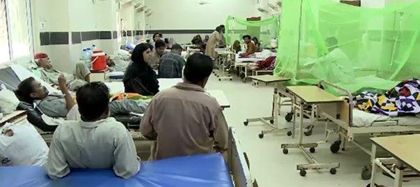 کراچی ڈینگی دو افراد جاں بحق کراچی  92 نیوز