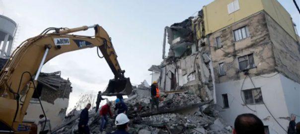 البانیہ، زلزلے، 4 افراد ہلاک، عمارتیں تباہ، ترانا، 92 نیوز