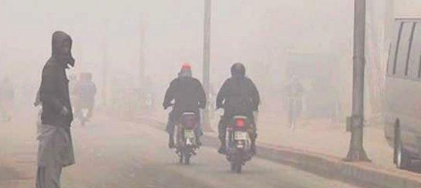 سردی، شدت میں اضافے، موٹر وے، دھند چھا گئی، لاہور، 92 نیوز