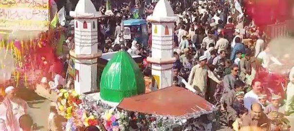 فیصل آباد، ملحقہ شہروں، عید میلاد النبیﷺ، جلوس اور مجالس، 92 نیوز