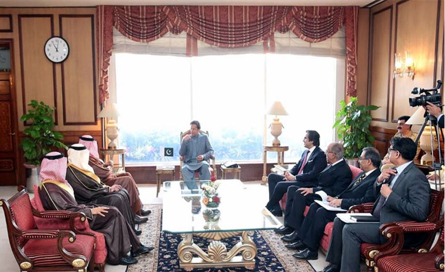 وزیراعظم سے سلطان بن سلمان کی ملاقات ، اسلاموفوبیا پر جوابی بیانیہ تشکیل دینے پر زور