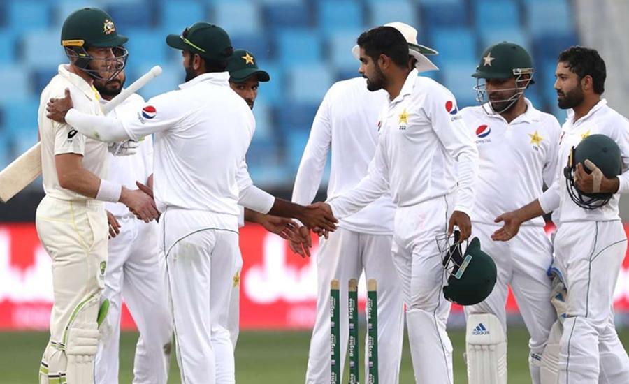 پاکستان اور آسٹریلیا کے درمیان ڈے اینڈ نائٹ ٹیسٹ آج سے شروع ہو گا