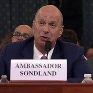 یوکرائن صدر ٹرمپ  گورڈن سونڈ لینڈ واشنگٹن  92 نیوز امریکی صدر  ڈونلڈ ٹرمپ