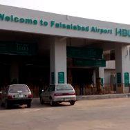 فیصل آباد  یورپ  فلائٹ آپریشن  92 نیوز رن وے  44 پی سی این  40 پی سی این