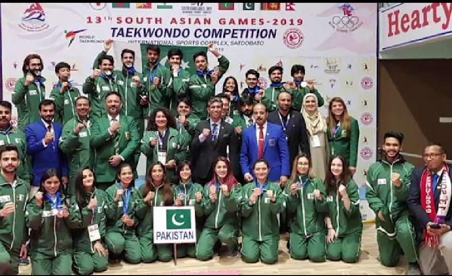13ویں جنوبی ایشیائی گیمز ، پاکستان  نے مزید تین طلائی تمغے جیت لیے