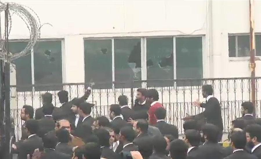 گرفتار وکلاء کی درخواست ضمانت پر سماعت کیلئے نیادو رکنی بینچ تشکیل