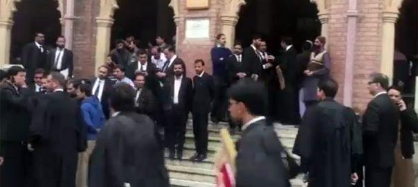 پی آئی سی حملہ، لاہور ہائیکورٹ، وکلاء ضمانتوں کیس، مقدمات کا ریکارڈ طلب، لاہور، 92 نیوز