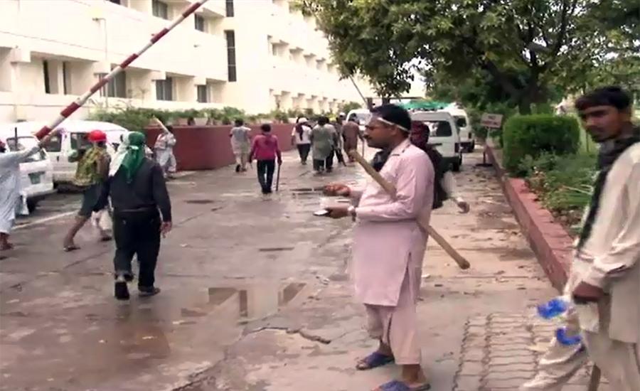 پی ٹی وی حملہ کیس، عمران خان کی بریت کی درخواست پر فیصلہ 12 دسمبر تک موخر