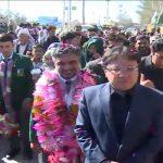 ساؤتھ ایشن گیمز، بلوچستان کی ٹیم کا عمدہ کارکردگی پر کوئٹہ پہنچنے پر والہانہ استقبال