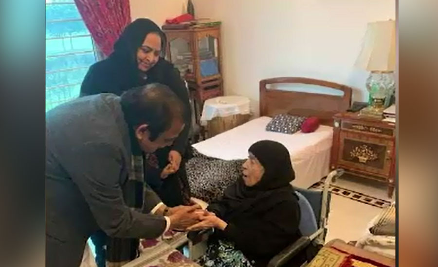 مسلم لیگ نون کے رہنما رانا ثنا اللہ کی جاتی امرا آمد، مریم نواز سے ملاقات