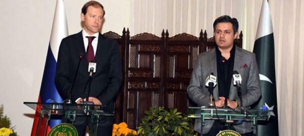 پاکستان ، روس ، تعلقات ، نیا باب ، صنعتی شعبے ، تعاون ، اتفاق