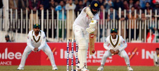 راولپنڈی ٹیسٹ ، سری لنکا ، دن ، کھیل ، ختم ، 202 رنز