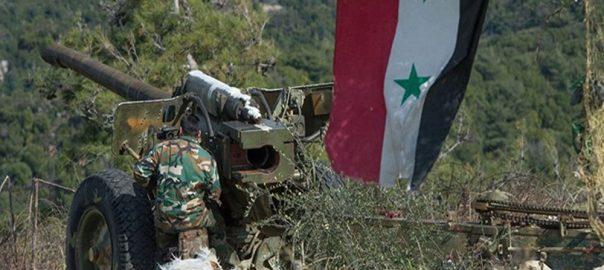 ادلب، شامی فورسز، دہشت گردوں، حملوں، پسپا، 30 شدت پسند ہلاک، 92 نیوز