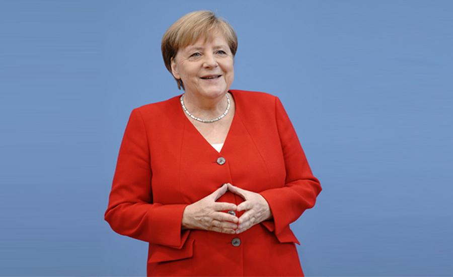 جرمن چانسلر مرکل مسلسل نویں برس بااثر ترین خاتون
