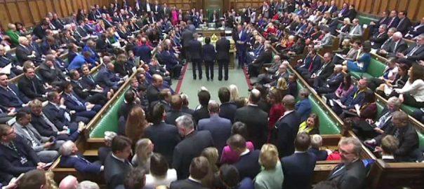 برطانوی پارلیمنٹ، بورس جانسن، بریگزٹ بل منظور، لندن، 92 نیوز