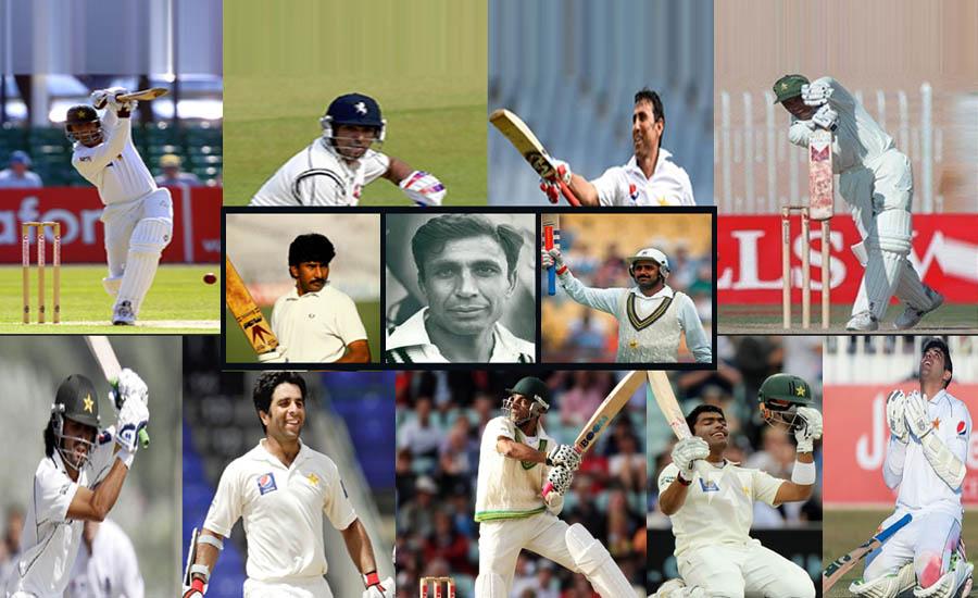پاکستان کے 11 کھلاڑی ڈیبیو ٹیسٹ میں سینچری بنانے کا اعزاز رکھتے ہیں