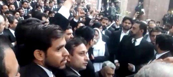 ڈاکٹرز سے جھگڑا، وکلاء، ملزموں کی گرفتاری، پولیس، کل تک کا الٹی میٹم، لاہور، 92 نیوز