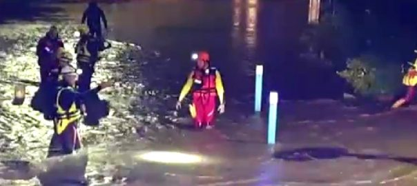 فرانس سیلابی صورتحال پیرس  92 نیوز زیر آب طوفانی بارشیں 