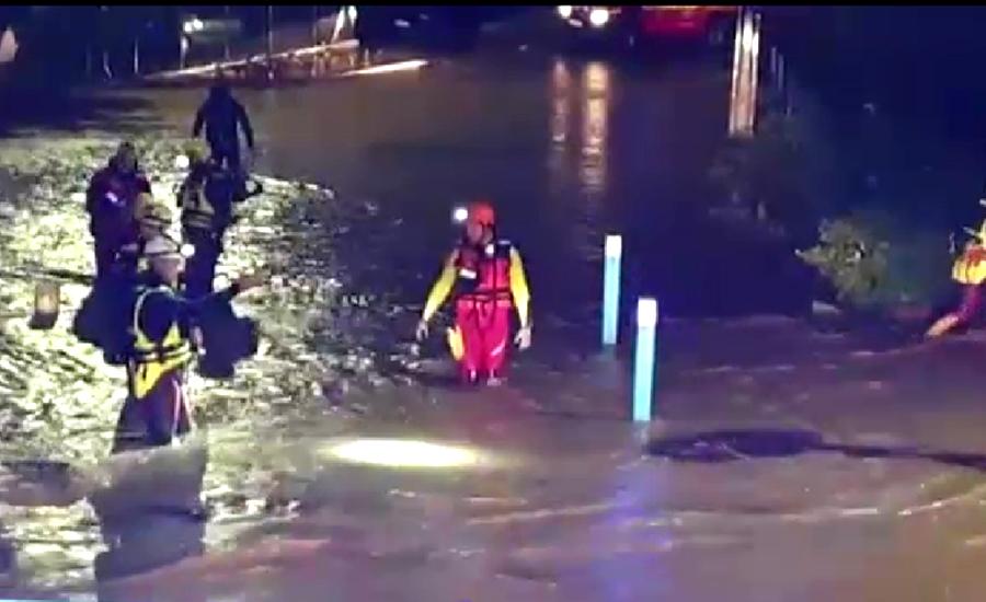 فرانس کے شمالی حصے میں بارشوں کے بعد سیلابی صورتحال