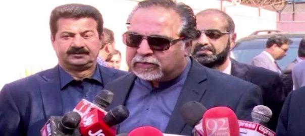 وزیر اعظم، وعدے کے مطابق، کرپشن کے خاتمے، کارروائیاں جاری، عمران اسماعیل، کراچی، 92 نیوز