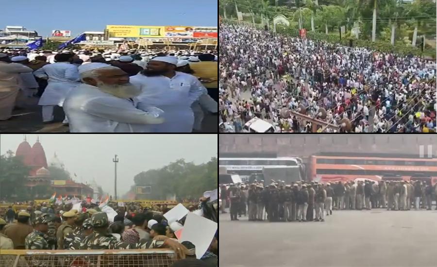 نریندر مودی کی انتہا پسندی نے بھارت میں آگ لگادی ، جگہ جگہ مظاہرے