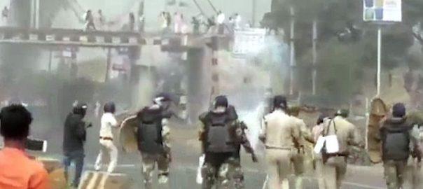 بھارت، متنازعہ شہریت قانون، مظاہرے، جھڑپیں، 3 افراد ہلاک، 20 زخمی، نئی دہلی، 92 نیوز